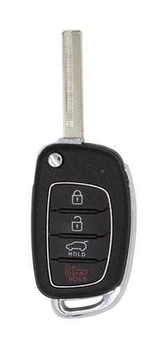 Hyundai Santa Fe OEM 4 Button Key Fob
